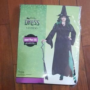 2 piece halloween witch costume